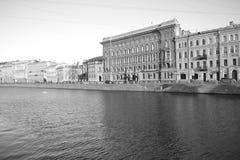 Gata av St Petersburg Arkivfoton