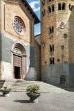Gata av staden Orvieto, Italien, Toscana Royaltyfri Fotografi