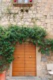 Gata av staden Orvieto, Italien, Umbria royaltyfri fotografi