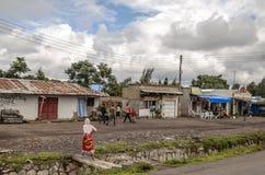 Gata av Tanzania Royaltyfri Foto