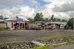 Gata av Tanzania Arkivbild