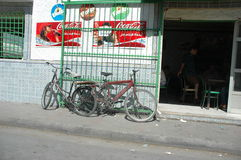 gata av tunis Royaltyfri Fotografi