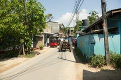 Gata av Uanawatuna Fotografering för Bildbyråer