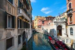 Gata av Venedig Royaltyfri Fotografi
