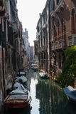 Gata av Venedig arkivfoton
