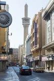 Gata Bastikiya Dubai Arkivbild