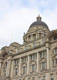 Gata byggnader, arkitektur i Förenade kungariket Lopp i UK arkivfoto