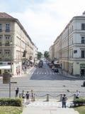 Gata för ¡ för VÃtÄ› znÃ, Prague Royaltyfri Foto