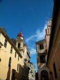 gata för 2 corfu Royaltyfria Bilder