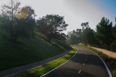 gata för bana för basanaviciauscykelpalanga arkivfoton