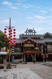 Gata för Hunan Zhangjiajie Wulingyuan flodtorkduk Royaltyfri Foto