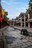 Gata för Hunan Zhangjiajie Wulingyuan flodtorkduk Arkivfoton