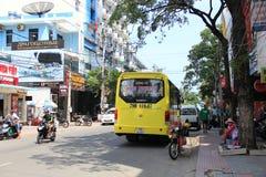 Gata för lopp för Vietnam Asien folktransport Royaltyfri Fotografi