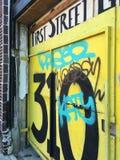 Gata Graffitti Arkivbild