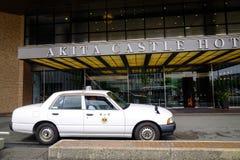 Gata i Akita City, Tohoku, Japan Fotografering för Bildbyråer
