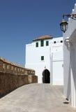 Gata i Asilah, Marocko Royaltyfria Bilder