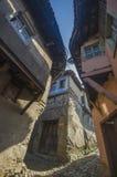 Gata i den Cumalikizik byn arkivbild