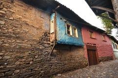 Gata i den Cumalikizik byn arkivfoto