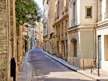 Gata i den latinska fjärdedelen av Paris, Frankrike Royaltyfri Foto