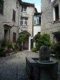 Gata i Frankrike Arkivfoton