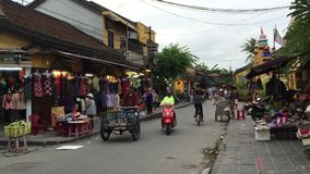 Gata i Hoi An, Vietnam stock video