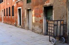 Gata i Italien, Venedig Royaltyfria Bilder