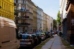 Gata i Kreuzberg Arkivfoto