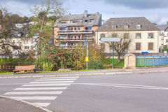 Gata i Luxembourg Fotografering för Bildbyråer