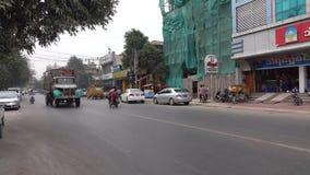 Gata i Mandalay, Myanmar lager videofilmer