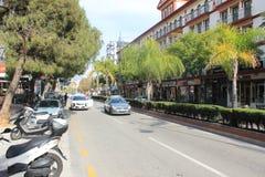Gata i Marabella Arkivbild
