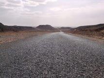 Gata i Marocco Arkivfoto