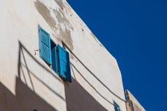 Gata i Medina av Essaouira Arkivbild