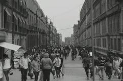 Gata i Mexico - stad Royaltyfri Foto