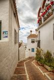 Gata i Mijas, Spanien Royaltyfria Foton