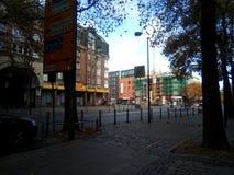 Gata i mitten av Dortmund arkivfoto