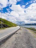 Gata i Norge Arkivfoton