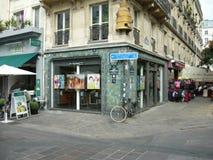 Gata i Paris Royaltyfri Foto