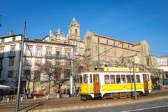 Gata i Porto, Portugal Royaltyfri Foto