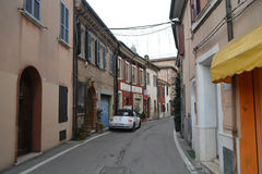 Gata i Rimini Royaltyfri Fotografi