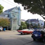 Gata i San Francisco, CA Royaltyfria Bilder