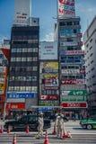 Gata i Tokyo arkivbilder
