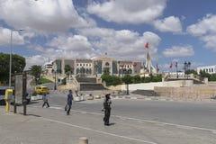 Gata i Tunis royaltyfria foton