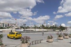 Gata i Tunis arkivbilder