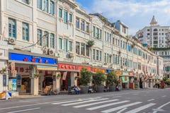 Gata i Xiamen Kina Fotografering för Bildbyråer