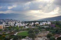 Gata Israel Royaltyfria Bilder