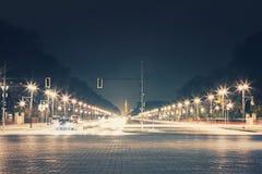 Gata på berlin Arkivfoton