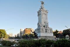 Gata på Buenos Arkivfoton