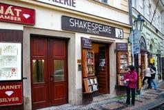 Gata Prague Arkivbild