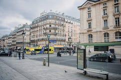 Gata Soufflot i Paris royaltyfri fotografi