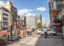 gata tokyo Royaltyfria Bilder